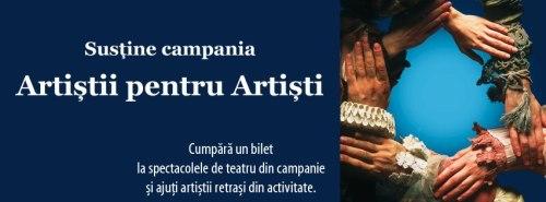 sustine Campania Artistii pentru Artisti